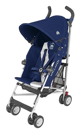 Maclaren Triumph Stroller Medieval Blue Silver