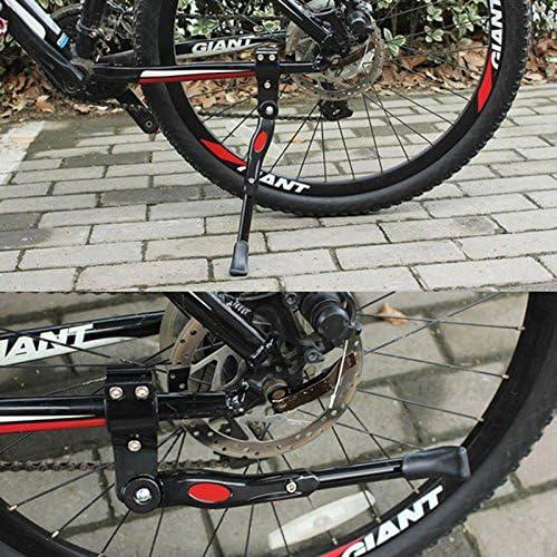 Noir Beauneo Bequille en Alliage daluminium reglable pour Piece de Cyclisme de Velo VTT