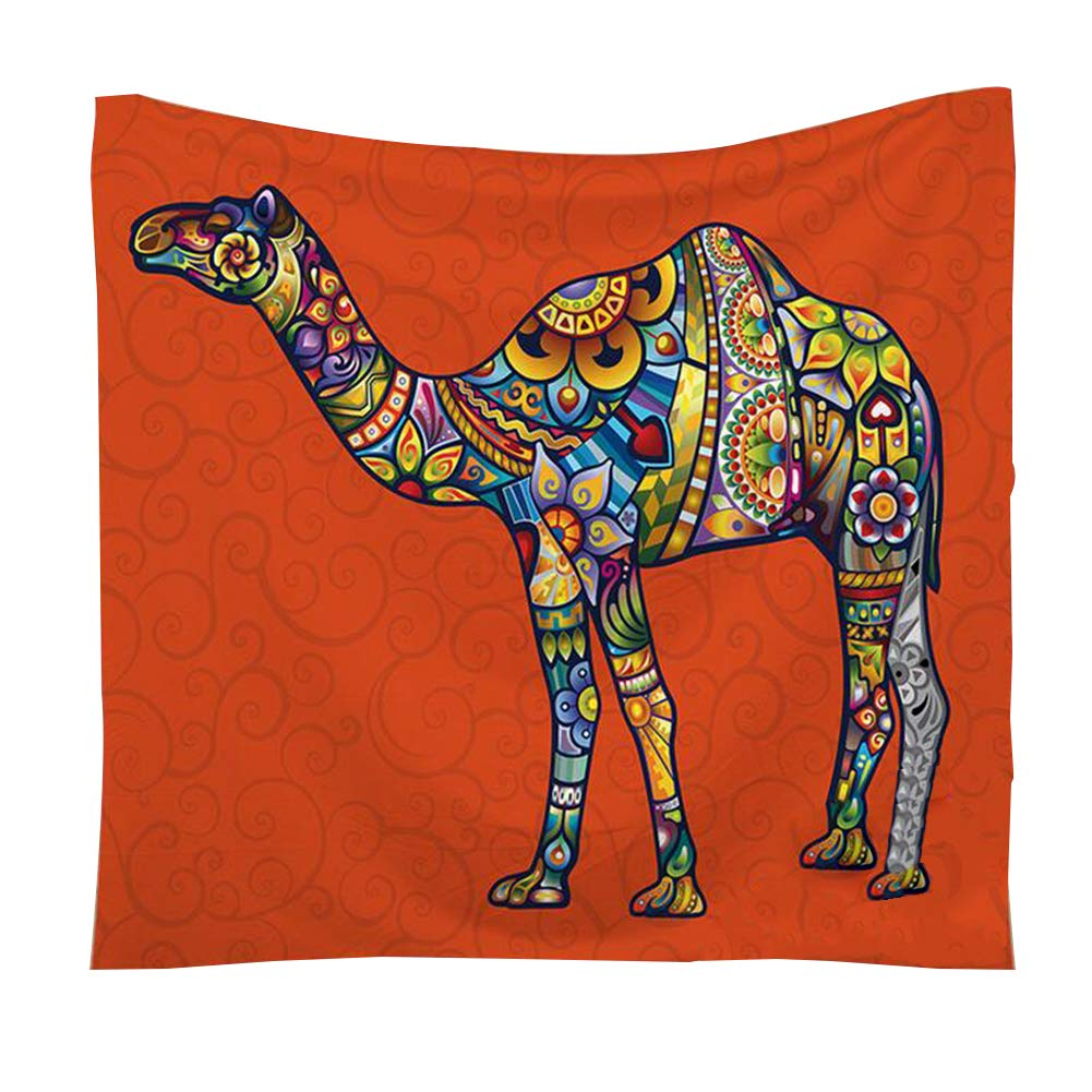 Hanging 1PC Bohemian Tapestry ARAZZO variopinta creativa Camel Stampa Arazzo Home Decor copriletto Parete Telo Beach Blanket per la casa Dorm