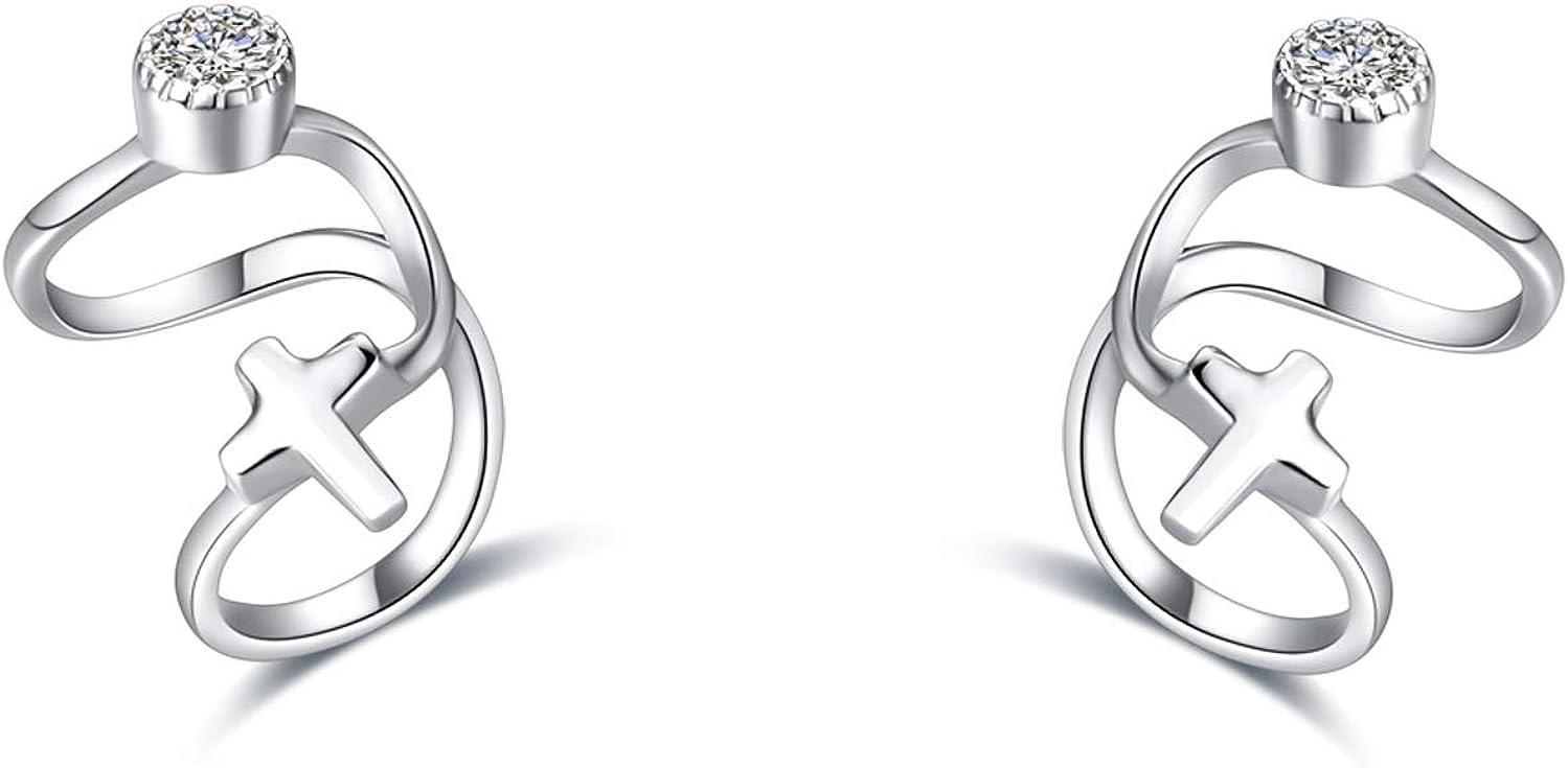 925 Sterling Silver Ear...