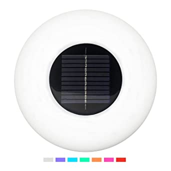 Solar Floating LED Pool Lights with Color Changing,Waterproof Pond Light Decorative Ball Lamp Colorful Globe Night Light Lamp for Garden Fountain Indoor Outdoor Pool Party Decor 4 Pack