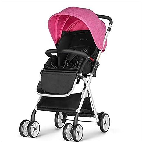 L&L Sillas de Paseo Cochecito de Bebé Cochecito Plegable Plegable Sistema de Viaje Jogging Bebé SUV