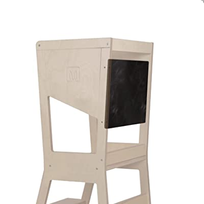 Pizarra para Learning Tower Torre de Aprendizaje MOKA BianconiglioKids: Bebé