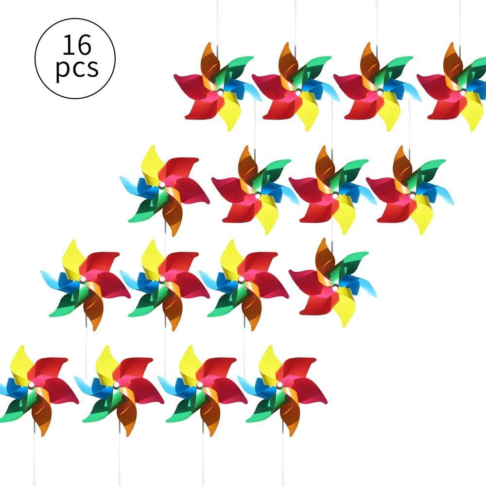 Jardins Chambres Moulin /à moulins color/és comme Cadeau pour Les Enfants f/êtes ou vitrines 16 pi/èces /… ou comme d/écoration d/élicate pour cr/èches