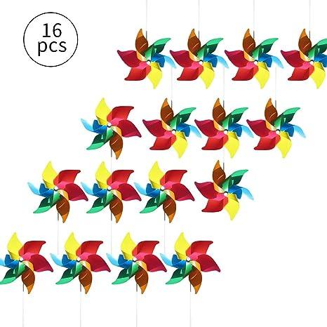 16 Unidades Molinillos Coloridos Como Regalo Para Los