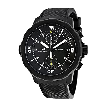 77be0026a0d7 Amazon.com  IWC Aquatimer Chronograph Galapagos Islands Mens Watch ...