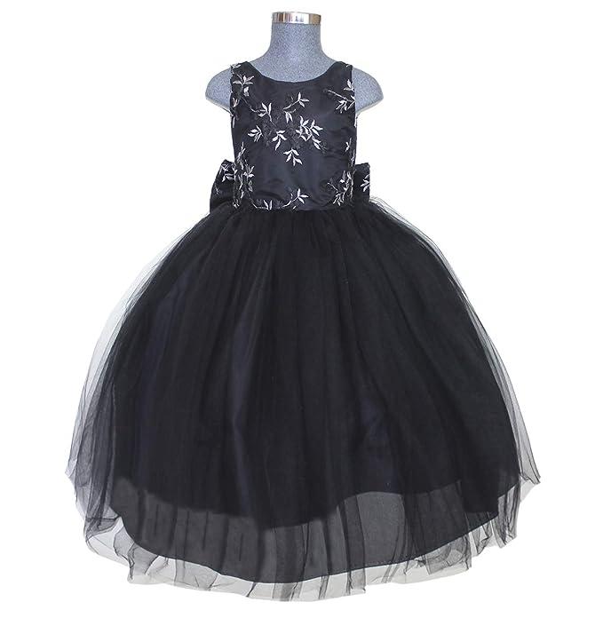 82972d8cc Maylin Vestido de Fiesta Presentación Mo. Yalila para Niña (Negro