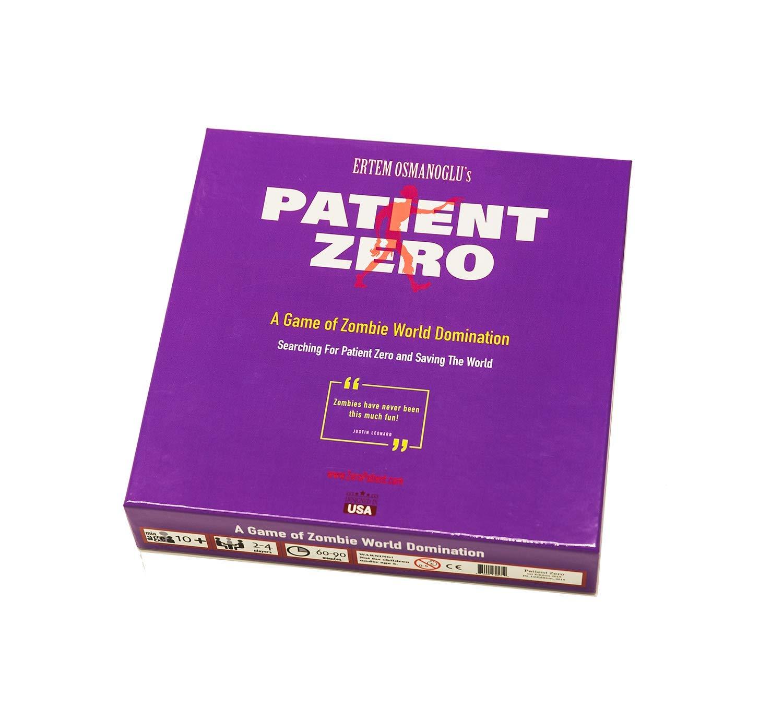 Patient Zero B07MQL12WJ