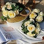YILIYAJIA-4PCS288-FT-Artificial-Rose-Vines-Fake-Silk-Flowers-Rose-Garlands-Hanging-Rose-Ivy-Plants-for-Wedding-Home-Office-Arch-Arrangement-Decoration-Beige