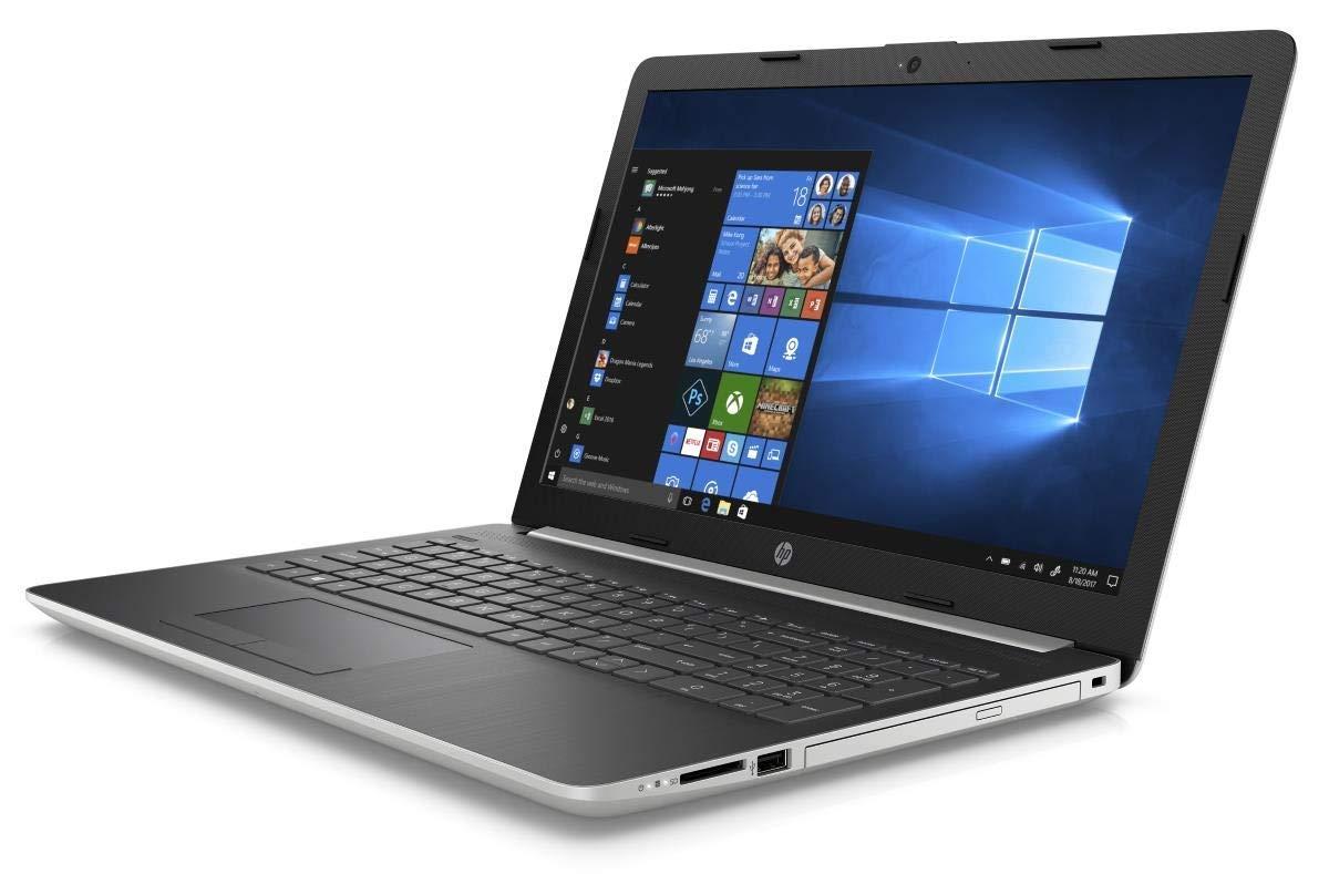 Newest HP 15 15.6'' HD Touchscreen Premium Laptop - Intel Core i5-7200U, 8GB DDR4, 2TB HDD, DVD+RW, HDMI, Webcam, Wi-Fi AC + Bluetooth 4.2, Gigabit Ethernet RJ-45, Windows 10 - Silver by HP