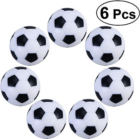 TOYMYTOY 6PCS 32mm Fútbol de Mesa plástico futbolín: Amazon.es ...