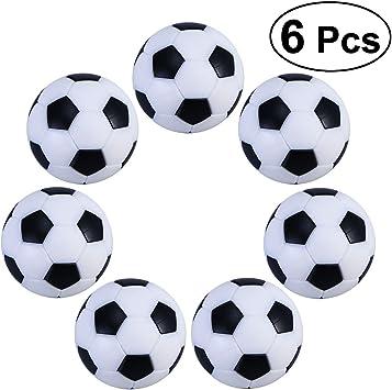 TOYMYTOY 6PCS 32mm Fútbol de Mesa plástico futbolín: Amazon.es: Deportes y aire libre
