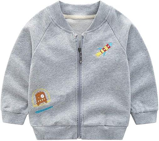 PUJIANGxian Boys Pequeña Capa De La Cremallera De La Chaqueta Camisa De Algodón Bolsillos (Color : Light Grey, Size : 120cm): Amazon.es: Hogar