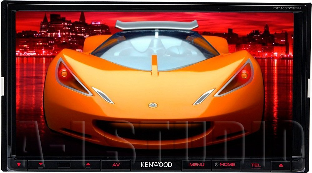 Kenwood DDX773BH 6.95'' In Dash Touchscreen DVD CD Receiver with built in Bluetooth, AM/FM Tuner and HD Radio