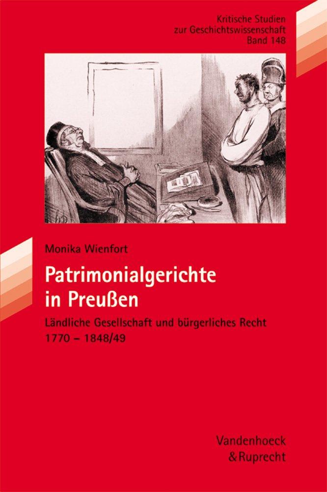 Patrimonialgerichte in Preußen (Psychoanalytische Blatter, Band 148)
