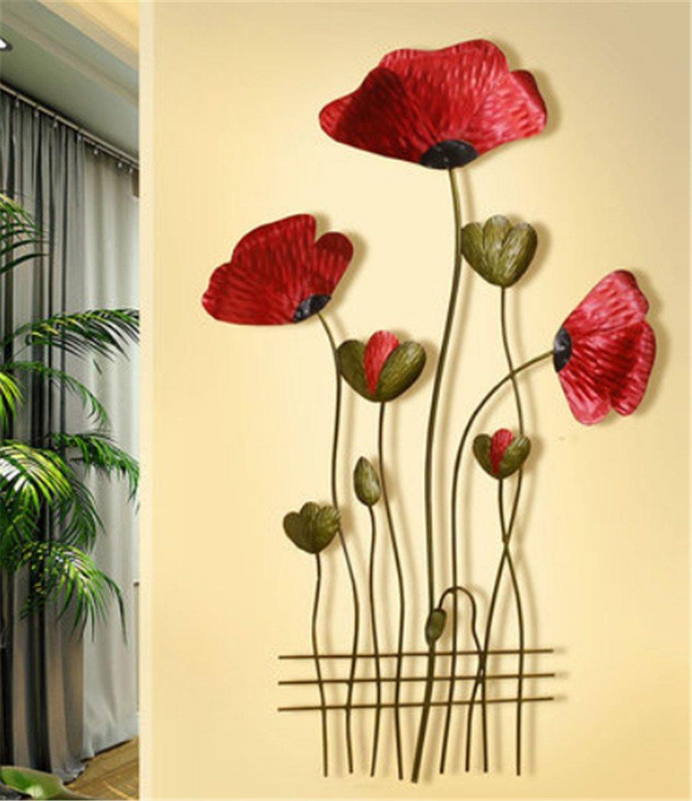Amazon.com: Wrought iron hanging wall mural Tree of Life Wall Art ...