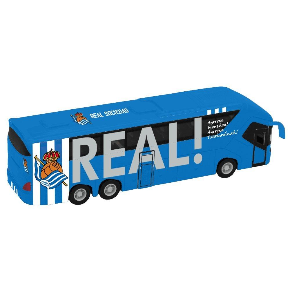 Eleven Force Autobús Oficial Real Sociedad, Ninguna (63553): Amazon.es: Juguetes y juegos