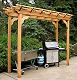 Cedar New Dawn Pergola 3Ft x 10Ft