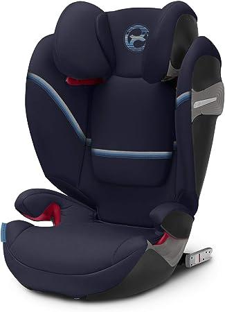 Oferta amazon: Cybex Gold - Silla de coche Solution S-Fix, para coches con y sin Isofix, Grupo 2/3 (15-36 kg), Desde los 3 hasta los 12 años aprox., Azul (Navy Blue)