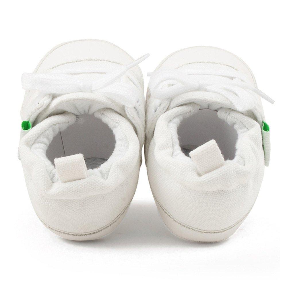 DELEBAO Chaussures Bebe en Toile Chaussure Souples B/éb/é Premiers Pas Chaussure de Marche B/éb/é Chaussons en Enfant Fille Garcon