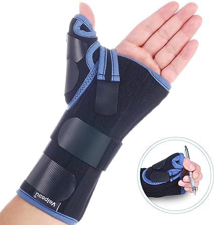 Arthritis /& Sprains Forearm Support Cast XS - Left Hand De Quervains Tenosynovitis Long Stabilizer Brace for Tendonitis BraceAbility Thumb /& Wrist Spica Splint