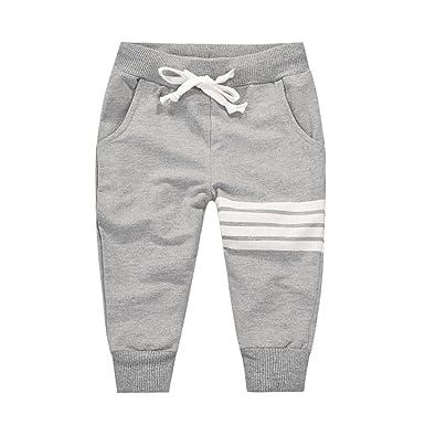 URMAGIC Boys Trousers Boys Children Kids Cotton Little Car Pattern Casual Tracksuit Bottoms Trousers Little Boys Pants 2-7 Years