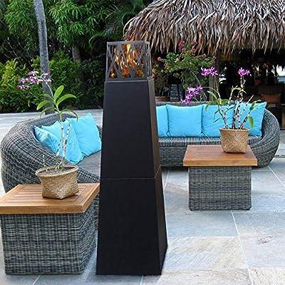 ART TO REAL Pyramid Free Standing Bio Ethanol Fireplace Indoor Outdor Corner Fireplace Heater Burner Insert Smokeless Ventless Fireplace