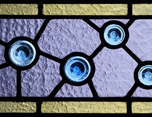 Home Comforts Laminated Poster Stained Glass Window Catalan Modernism Translucent Poster Print 11 x 17 - Window Poster Translucent