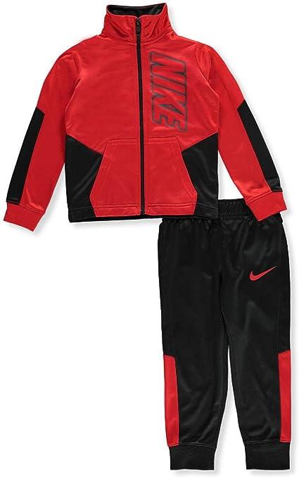 Nike - Chándal para niño (2 Piezas), 3 años, Negro/Rojo: Amazon.es ...