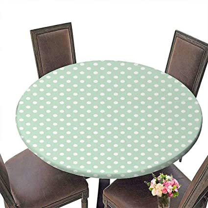 a4308543803f Amazon.com  PINAFORE Round Polyester Tablecloth Table Cover Tile ...