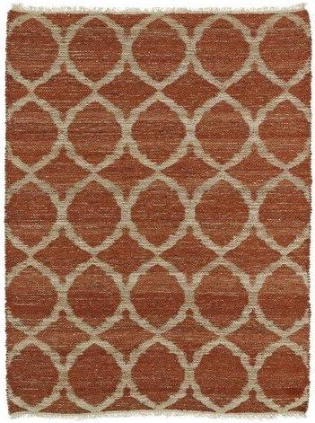 Kaleen Rugs Kenwood Collection KEN06-30 Rust Handmade 8' x 11' Rug