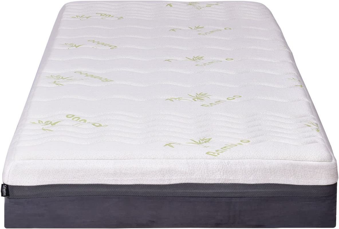 Giantex Mattress Memory Foam Bed Mattress Zipped Washable Bamboo Cover 10 Mattress King