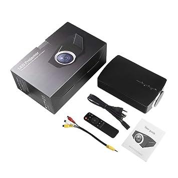 1080P Leshp de vídeo LED Mini Proyector Multimedia Home ...