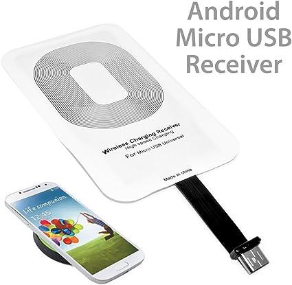 Amazon.com: Universal cargador inalámbrico Qi receptor de ...