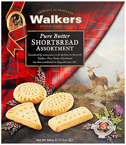 (Walkers Traditional Pure Butter Shortbread Cookie Assortment 17.6 oz Box)