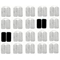 "Acuzone Premium TENS Unit 40 Electrodes 2""x4"" Rectangular Electrode for TENS Massage EMS"