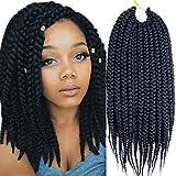 Best Hair For Crochet Braids - VRHOT 6Packs 12'' Box Braids Crochet Hair Soft Review