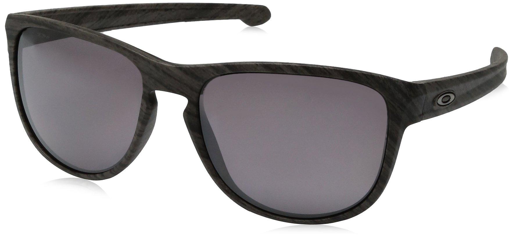 Oakley Men's Sliver R Non-Polarized Iridium Sunglasses, Matte Black with Jade Iridium, 57 mm