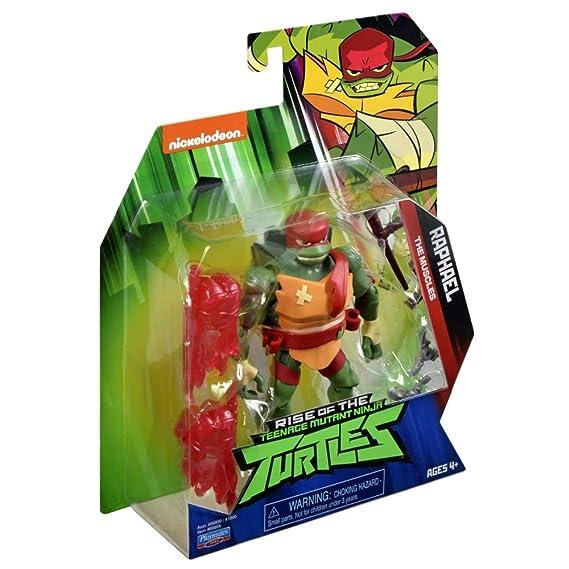 Teenage Mutant Ninja Turtles TUAB0100 Raph The Leader The Rise of Basic Action Figura