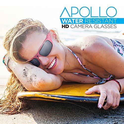 02e07bab7c GoVision Apollo 1080p HD Camera Glasses Water Resistant Video - Import It  All