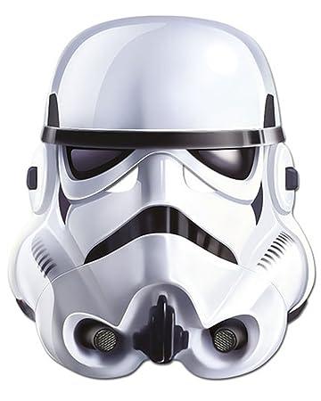 heiß-verkaufendes echtes Straßenpreis bester Verkauf empireposter Star Wars - Stormtrooper Papp Maske, aus hochwertigem  Glanzkarton mit Augenlöchern, Gummiband - Größe ca. 30x20 cm