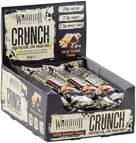 Warrior Crunch Bar, Weiße Schokolade Crisp - 12 bar