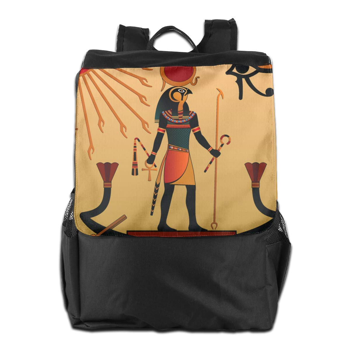 hgfdhfgjrfj Ancient Egyptian Sun Life Women Men Laptop Travel Backpack College School Bookbag UZLF3AZQKV7Z9EC3HL5I
