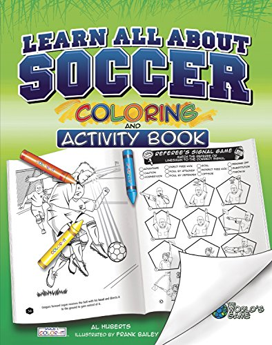 Learn All About Soccer: Color and Activity (Rule 1, Sports Color and Activity Books) ()