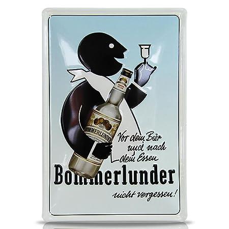 HC de Comercio 916210 Nostalgie Cartel de chapa fewa bommer ...