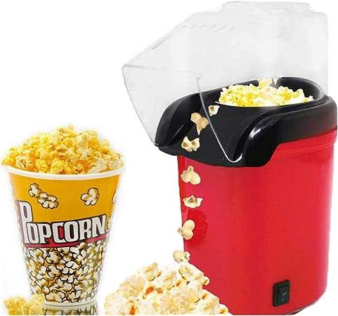 OhLt-j Aire caliente hacer palomitas de maíz, palomitas de maíz 1200W retro saludable y libre