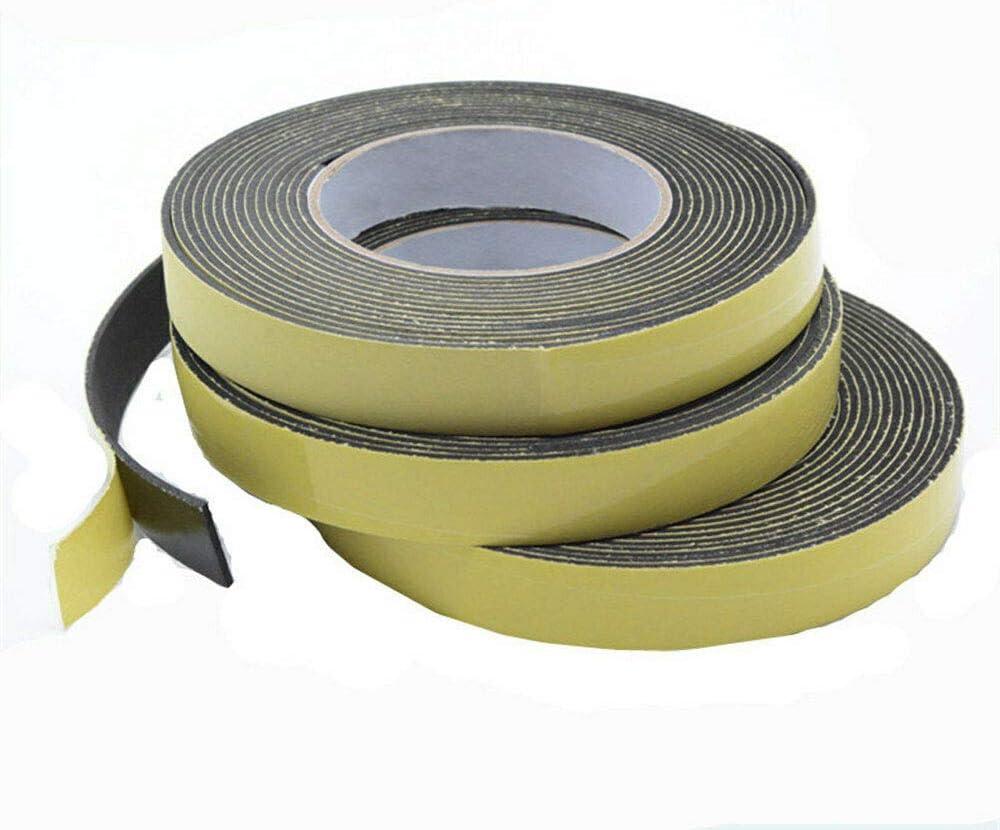 12mm-50mm Wide Self Adhesive Sealing Tape Strip Sticky Rubber EVA Sponge 5M