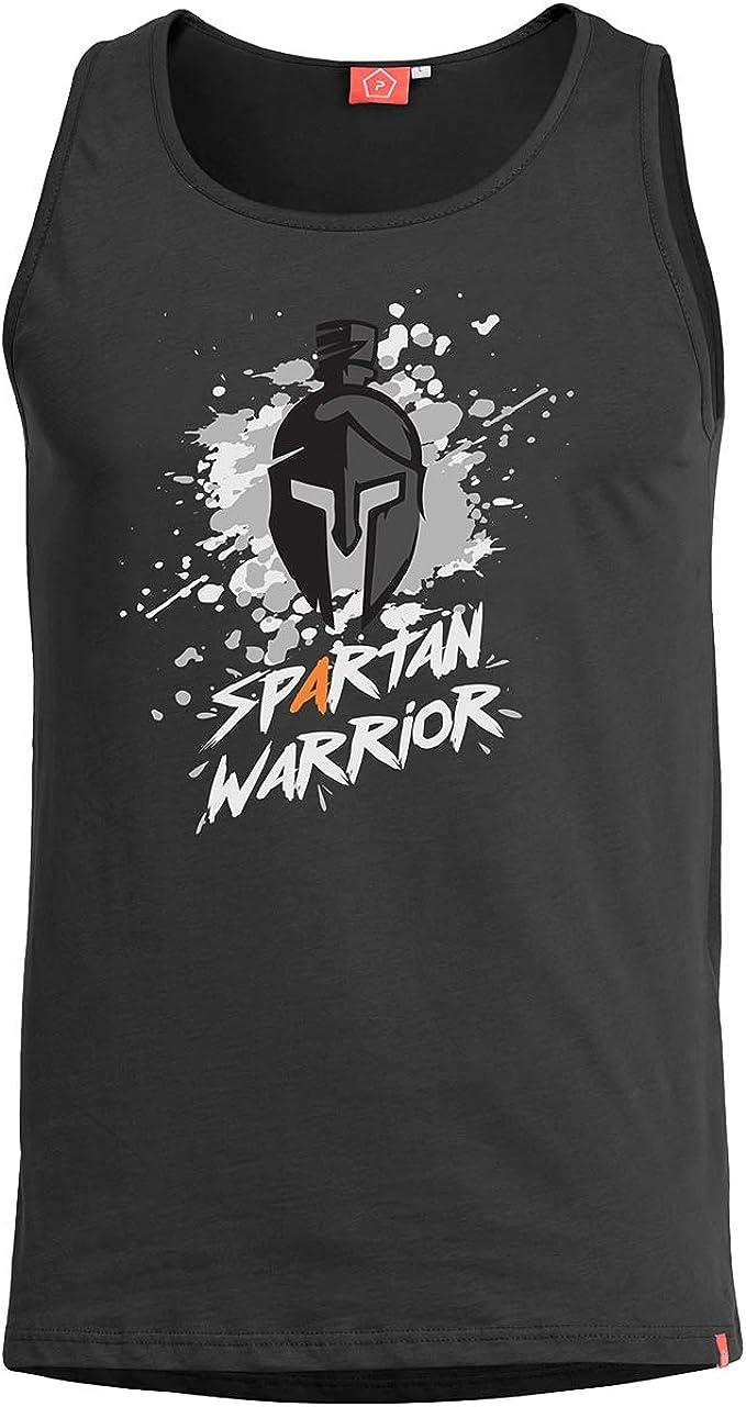 PENTAGON Hombre Astir Camiseta sin Mangas Spartan Warrior ...