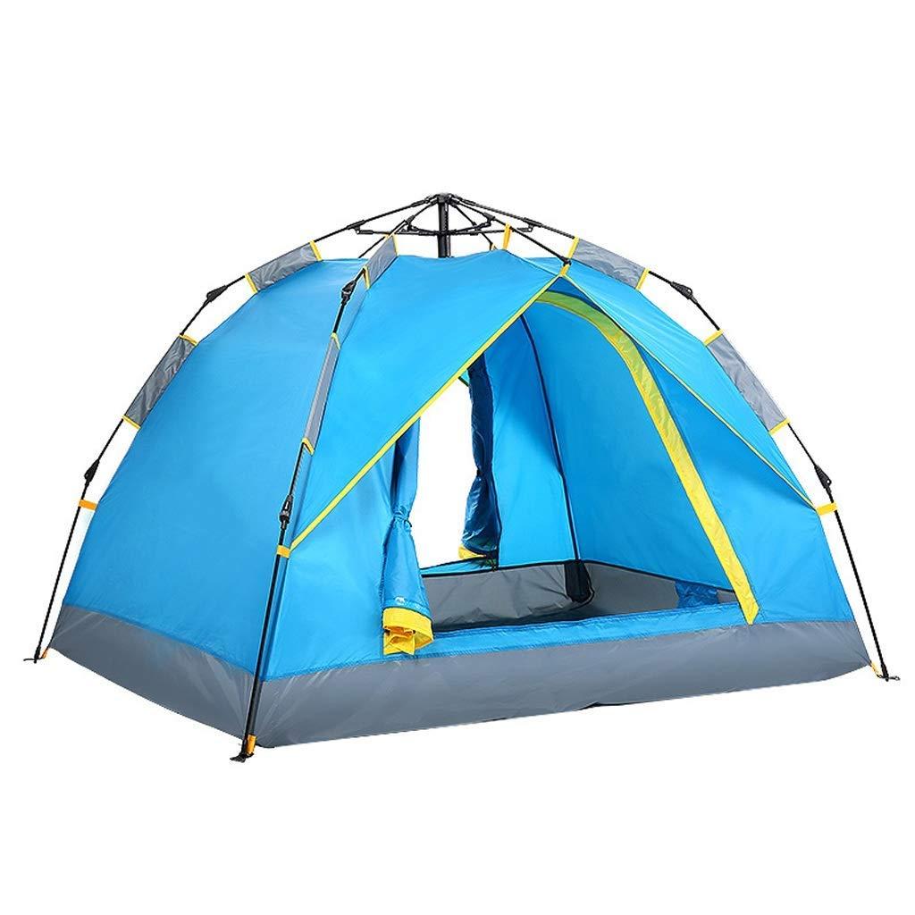 【超ポイント祭?期間限定】 防雨キャンプテントサイズ2人インスタントポップアップテント3色 青) (色 : (色 青) B07P3ZZXND 青 B07P3ZZXND, Foot-Luck:f17d3cad --- ciadaterra.com