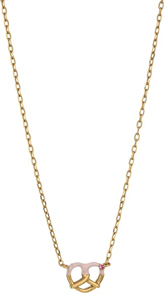 Marc Jacobs Necklaces, Gold, Sterling Silver, 2017, One Size